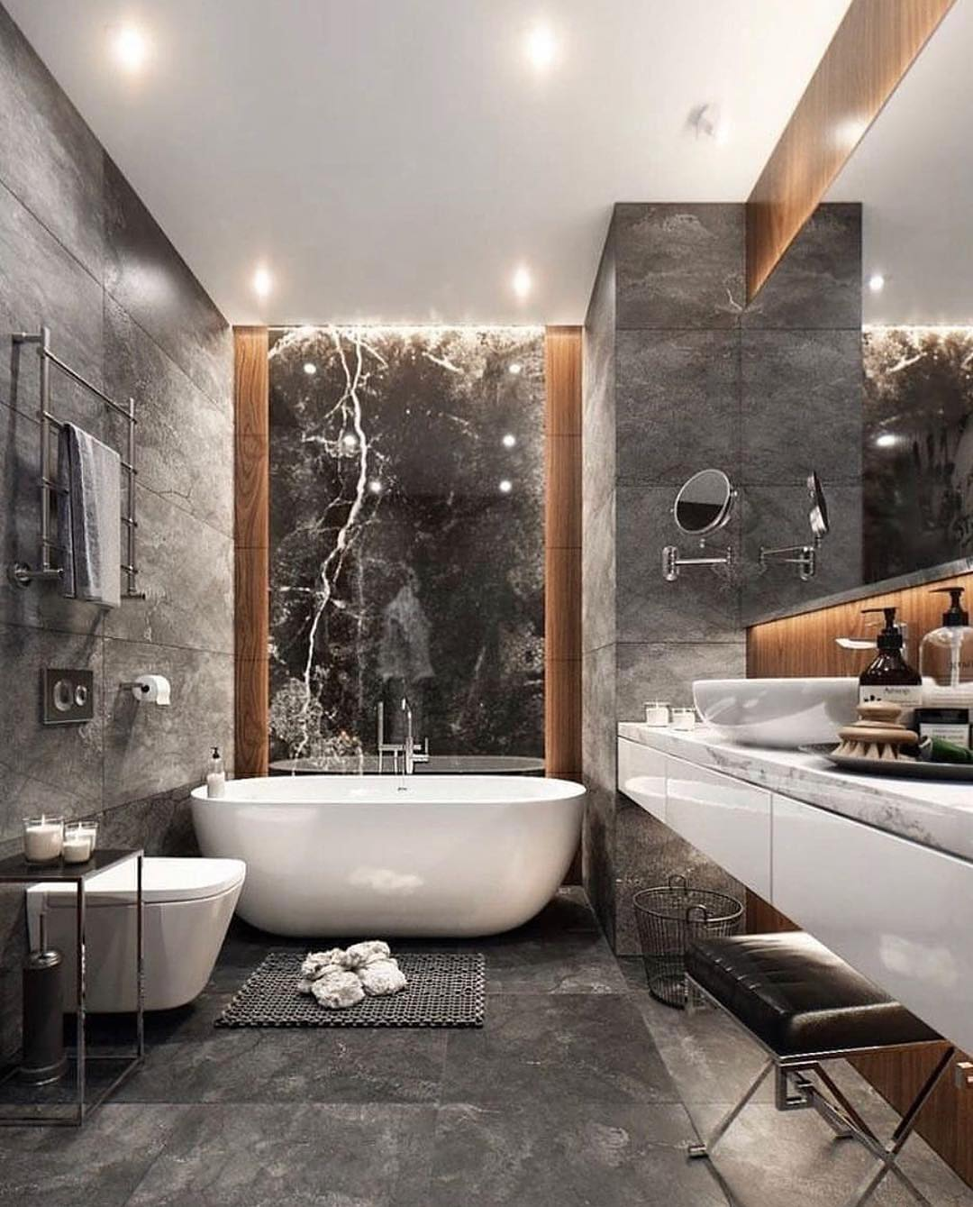 30+ OF THE MOST BEAUTIFUL BATHROOM DESIGNS 2019