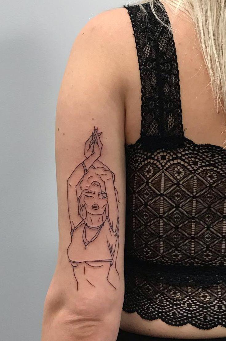 Dua Lipas Tattoo Designer Madame Buraka The Work Of The